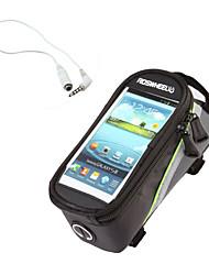 Bolsa de Bicicleta 1.5LLBolsa para Quadro de Bicicleta / Bolsa para Bagageiro de BicicletaÁ Prova-de-Água / Lista Reflectora / Vestível /