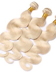 Cabelo Humano Ondulado Cabelo Brasileiro Onda de Corpo 6 meses 3 Peças tece cabelo
