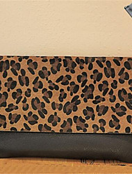 Women-Casual-PU-Shoulder Bag-Animal Print