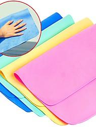 5pc embalar pva cor aleatória limpeza cozinha pano carro toalha limpa limpa