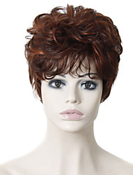Heat Resistant Cheap Fake Hair Wig Short Curly Synthetic Wigs for Women