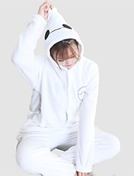 Big Hero 6 Baymax Cosplay Adult Unisex Thin Coral Fleece Kigurumi Pajamas
