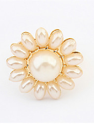 Sunflower Refined Pearl Ring