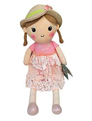 подлинной весной девушки куклы плюшевые игрушки куклы кукла ребенка умиротворить куклы подарка девушки шлема розовая юбка сидит высота