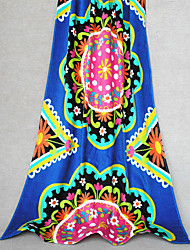 "Well Designed Full Cotton Beach Towel Bath Towel 59"" by 29"""