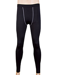Men's Running Tights Quick Dry Sweat-wicking Tights for Exercise & Fitness Running Black Gray Red Green Blue M L XL