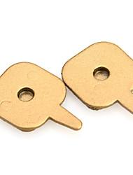 Bicicleta Freios & Peças(Dourada,sintético) -Travões de Freio