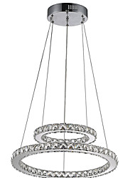 LED Pendant Light Chandeliers Lamps Fixtures with 2Ring D2040CM 27W CE FCC ROHS