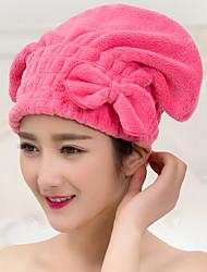 """Serviette pour cheveux-Broderie- en100% Molleton-26*22cm(10.2""""*8.6"""")"""