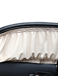 Knitted Fabrics Universal Car Window Curtain Sun Shade UV Protection Fit Most Car Side Window (71*39cm)