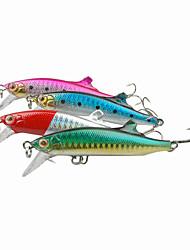 1pcs Hard Bait Minnow Sinking Plastic Fishing Lure