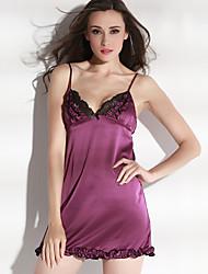 ONICE® Femme Polyester Chemises de Nuit &  Robes-ANS-008