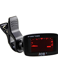 Electronic Tuners Violin Musical Instrument Accessories PVC Red / Black / Yellow / Purple