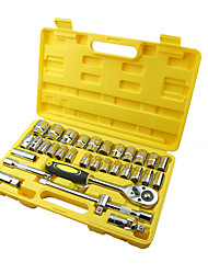 "REWIN® TOOL 32pcs 1 / 2 "" Socket Wrench Set with Mechanical Tool Box"
