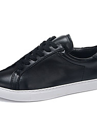 Women's Winter Comfort PU Lace-up Black / White Sneaker
