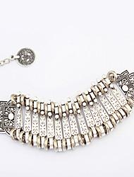 Femme Chaînes & Bracelets Alliage Bijoux de déclaration Argent Bijoux 1pc