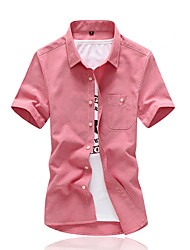 Men's Dress Shirts 2016 Hot Summer New Arrival Men's Clothing Short-Sleeve Shirt Casual Shirts Slim Fit Stylish