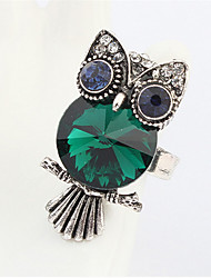 Exaggerated Personality Owl Ring
