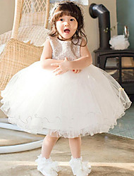Girl's Cotton Summer Cute Bowknot Princess  Bubble Skirt