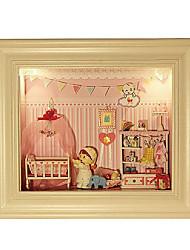поделки кабины серии мечта творческий Валентина подарок ручной сборки модель Чи весело дом