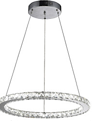 "Modern Round LED Crystal Pendant Light Ceiling Chandeliers Lamps for Living Room with D23.62"" CE FCC ROHS"