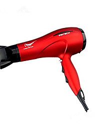 Hair Dryer Only Dry Ponytail Holders Ionic Technology / Swivel cord / Hot and cool wind / Power light indicator / ElectricCoffee / Red /