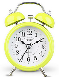 Creative Cute Shape Mute Alarm Clock(Random Color)