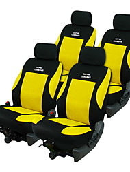 Universal Fit for Car, Truck, Suv, or Van Polyester Car Seat Cover Full Set Full Seat Cover Set (8 Pieces)