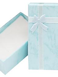 Bogen Halskette Armband Ring Ohrringe Geschenk-Box