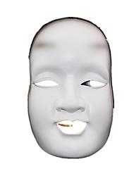 Маски Косплей Фестиваль / праздник Костюмы на Хэллоуин белый С принтом Маски Хэллоуин Универсальные