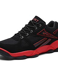 Men's Running Shoes Tulle Black / Red