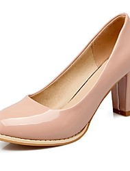 Women's Shoes Chunky Heel Heels / Basic Pump / Round Toe Heels Office & Career / Party & Evening / Dress