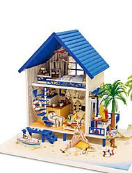 chi Fun House DIY artesanal Casa da cabine do presente do dia dos namorados artesanal Aegean Grécia