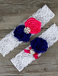 Plate Of Flowers Bride Garter Wedding Decoration