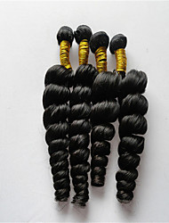 3Pcs/Lot Brazilian Virgin Hair Loose Wave Unprocessed Brazilian Loose Wave Virgin Human Hair Weaves