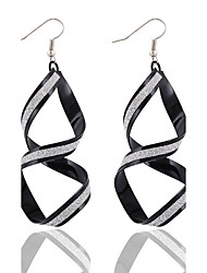 Rock Nightclub Exaggerated Fashion Frosted Cross Earrings