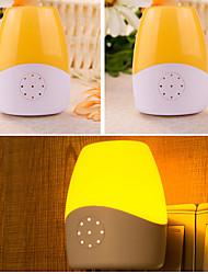 1 W Теплый белый / Натуральный белый AC Диммируемая / Сенсор Ночные светильники AC 110-220 V АБС-пластик