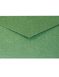 5 элегантные золотые конверт из фольги деловое приглашение (цвет случайный)