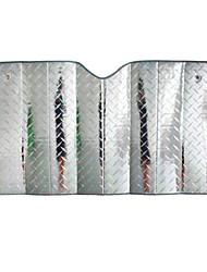 laser de bolha de ar de algodão auto frente guarda-sóis de pára-brisa protetor solar 130 x 60cm