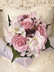 Wedding Rose Peonies Flowers Round Bouquets for Bride Home Deco