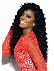 Joywigs Human Virgin Hair Jerry Curly Lace Front /Full Lace Wig for Balck Women