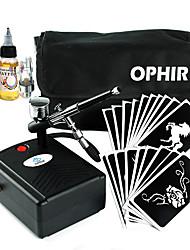 Kits de Tatuagens Temporárias / Stencils de Tatuagem Temporária / Tintas para Tatuagens Temporárias / Compressores para Tatuagens