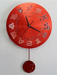 Прочее Модерн Настенные часы,Прочее Металл 42*50*7