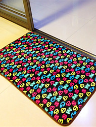 "Casual Style Coral Velvet Material Thickened Non-Slip Mat W16"" x L24"""