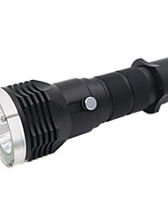 Lights LED Flashlights/Torch LED 1600 Lumens 2 Mode 18650 Waterproof Camping/Hiking/Caving Everyday Use Diving/Boating Water Sports