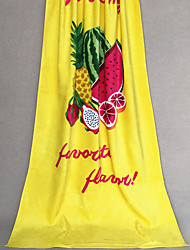"Well Designed Full Cotton Beach Towel Bath Towel 65"" by 32.6"""