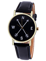 Compass Watch Cardinal Directions Men's Watch Women Watches Leather Watch Vintage Style  Personalized Gift Cool Watches Unique Watches