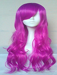 Wonderful Cosplay Wig Super Long Wavy Synthetic Hair Wigs Natural Animated Party Wigs 5 Colors