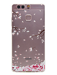 For Huawei Case Ultra-thin / Transparent Case Back Cover Case Tree Soft TPU Huawei