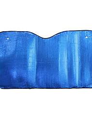 folha de alumínio 140 * 70cm guarda-sóis de pára-brisa